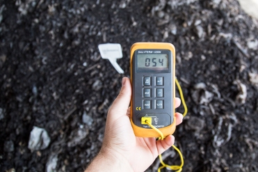 Temperatura média de processo de 55°C, o que garante a higienização do material.